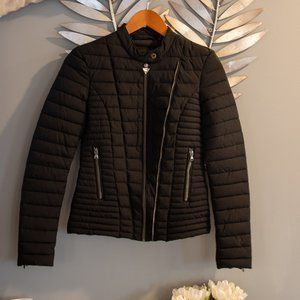 Guess Light Fitted Puffer Jacket